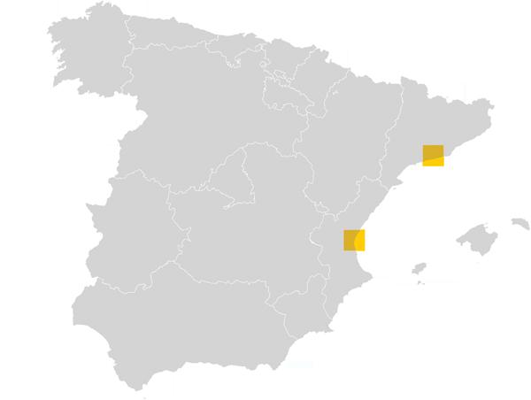 Mapa de Gecotex