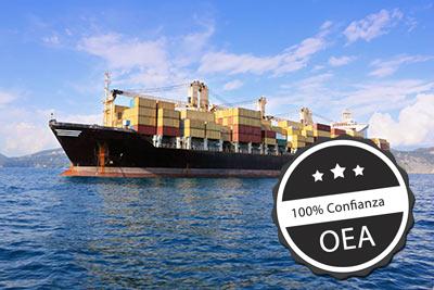 Certificado OEA de despacho de aduanas Gecotex