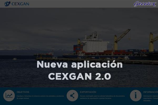Nueva aplicacion cexgan 2.0