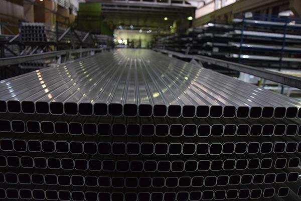 Producción de aluminio en una fabrica