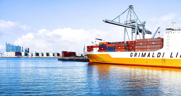 Transporte mercancías comercio marítimo internacional